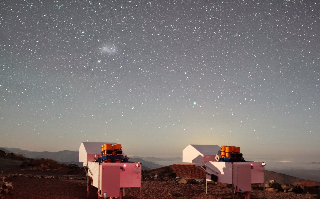 HATSouth telescopes at Las Campanas Observatory, Chile